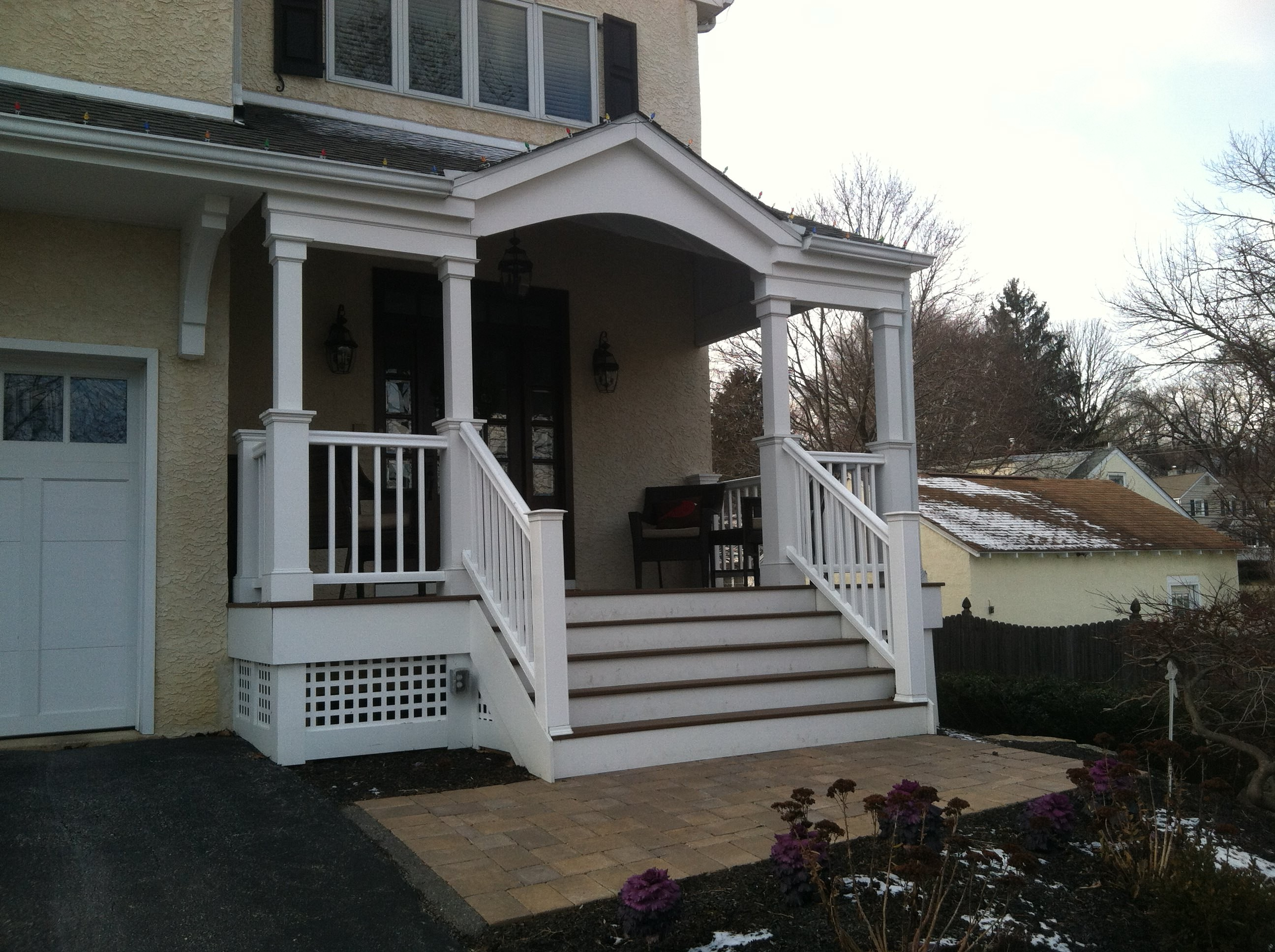 Portico designs that suits the architecture of your home for House plans with portico