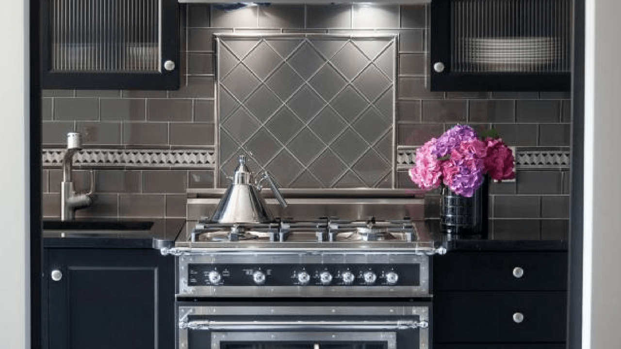 black and white kitchen design on the main line & philadelphia