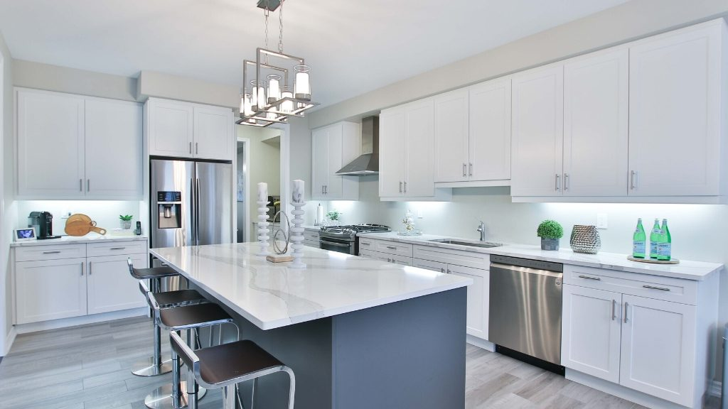 kitchen design for large area