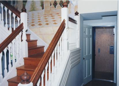 Custom staircase_elevator